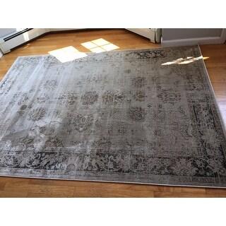 Safavieh Vintage Oriental Stone Distressed Silky Viscose Rug (5'3 x 7'6)