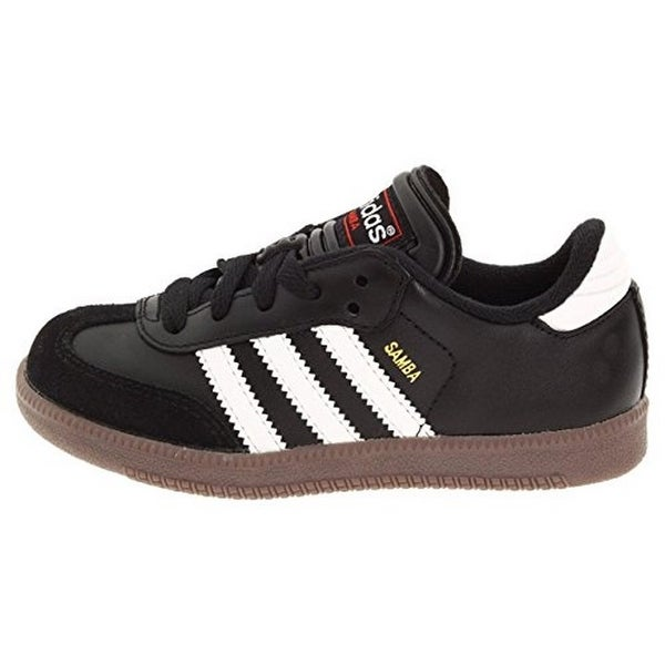 quality design d0cc2 23f9f Adidas Samba Classic Leather Soccer Shoe (Toddler Little Kid Big Kid),