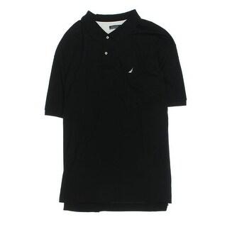 Nautica Mens Big & Tall Polo Shirt Cotton Monogram