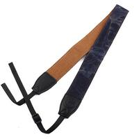 SHETU Authorized Universal Denim DSLR SLR Camera Shoulder Neck Strap Dark Purple
