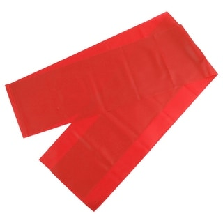 Home Gym Fitness Training Yoga Pilates Stretch Resistance Band Red 1.8M Length