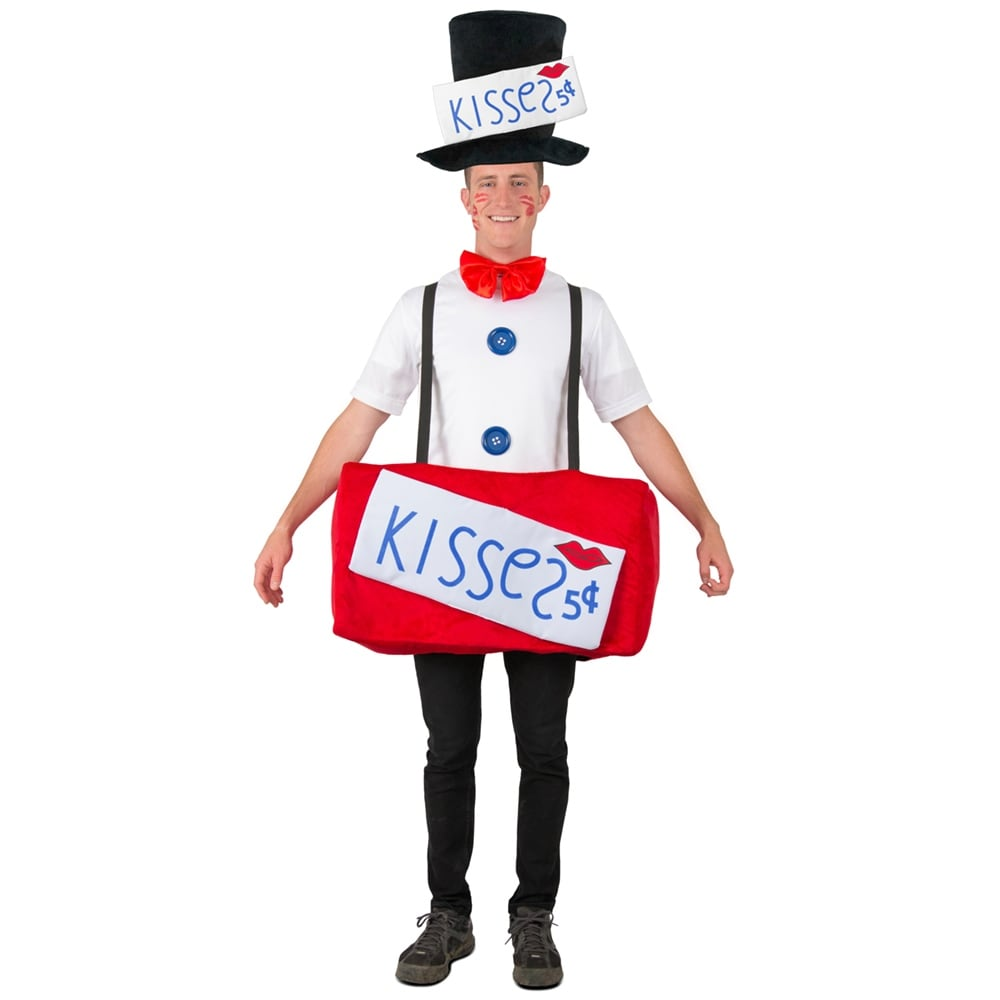 e5bcf498818f Shop Adult Kissing Booth Halloween Costume - Free Shipping Today ...