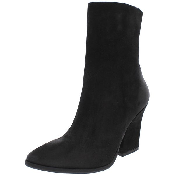 Free People Womens Mystic Charms Ankle Boots Leather Pointed Toe - 38 medium (b,m)