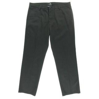 Dockers Mens Dress Pants Pinstripe Flat Front - 34/34