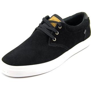 Globe Willow Men Round Toe Suede Black Skate Shoe