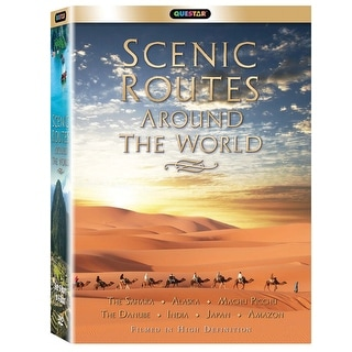 Scenic Routes Around The World: Mythical Roads - 6 Dvd Set