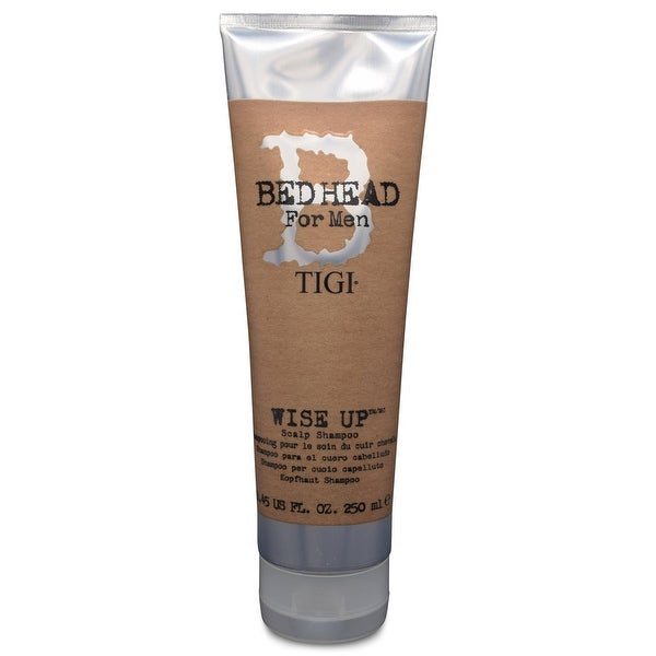 TIGI Bed Head For Men Wise Up Scalp Shampoo 8.45 fl Oz