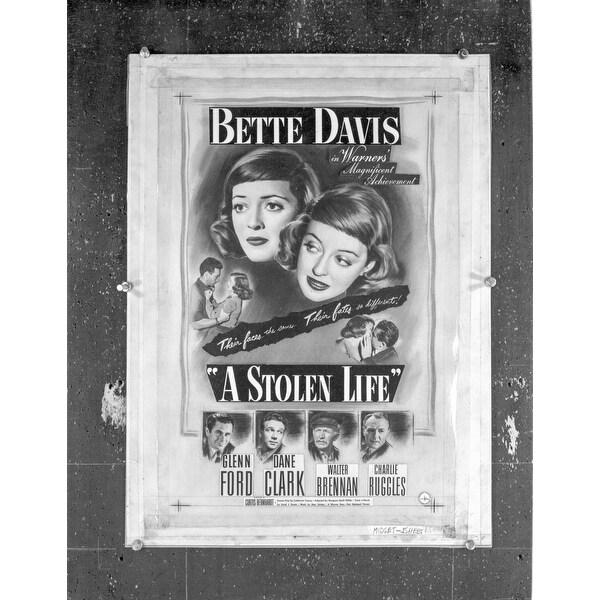A Publicity Poster For A Stolen Life Photo Print