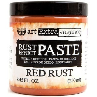 8.45 fl oz Finnabair Art Extravagance Rust Paste - Red