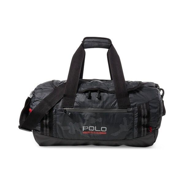 19e00fd9ab Polo Ralph Lauren NEW Black Ripstop Sport Men  x27 s Duffel Gym Handbag