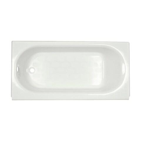 "American Standard 2390.202 Princeton 60"" Americast Soaking Bathtub with Left Hand Drain - Lifetime Warranty - N/A"