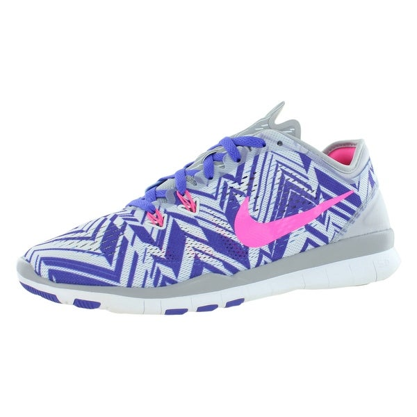 Shop Nike Free 5.0 Tr Fit 5 Prt Training Women s Shoes - Free Shipping  Today - Overstock - 22021689 6ae40aef5