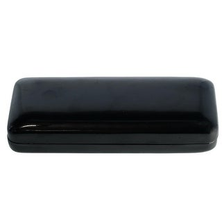 CTM® Rectangular Shiny Leatherette Glasses Case - One size