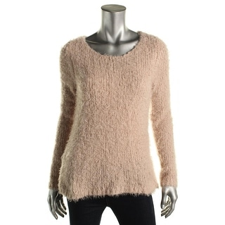Studio M Womens Josette Knit Hi-Low Sweater - S