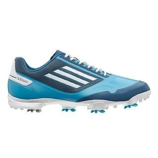 Adidas Men's Adizero One Solar Blue/Running White/Tribe Blue Golf Shoes Q46944 / Q46976
