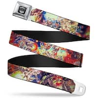 Transformers Autobot Logo Full Color Black Silver Gradient Transformers Box Seatbelt Belt