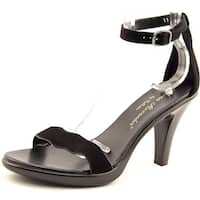 Athena Alexander Les Women  Open Toe Synthetic Black Sandals