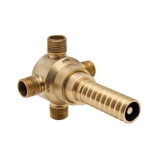 Rohl R1062 Diverter Rough In Valve 3 Way Diverter with 4 Ports
