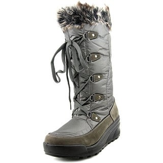 Spring Step Northridge Women Round Toe Synthetic Gray Snow Boot