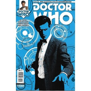 Doctor Who The Eleventh Doctor #14 Comic Book (Photo Subscription Variant Cover) - multi