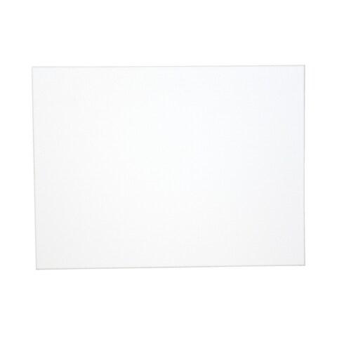 Sax Genuine Canvas Panel, 8 x 10 Inches, White