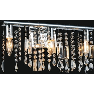 Link to Gracewood Hollow Sanou 3-light Wall Sconce with Chrome Finish Similar Items in Sconces