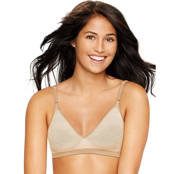 0dcc4d9a48 Hanes Ultimate Comfy Support ComfortFlex Fit® Wirefree Bra - Size - XL -  Color -