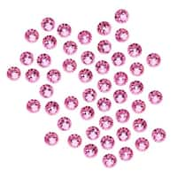 Swarovski Crystal, Round Flatback Rhinestone SS16 3.8mm, 50 Pieces, Rose