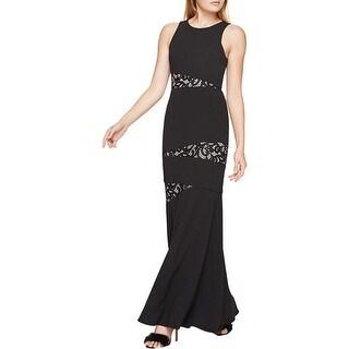 BCBG Max Azria Womens Dominique Formal Dress Full-Length Lace