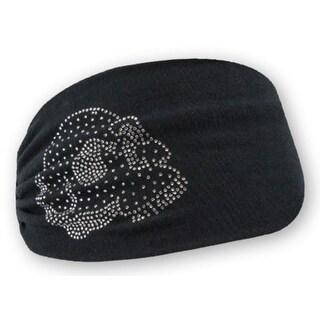 Harley-Davidson Women's Embellished Krystal Skull Headband Scrunchie HE26530 - One size