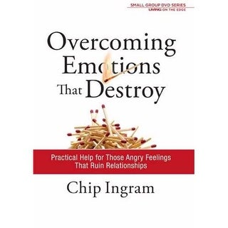 Overcoming Emotions That Destroy DVD Series Study Guide by Chip