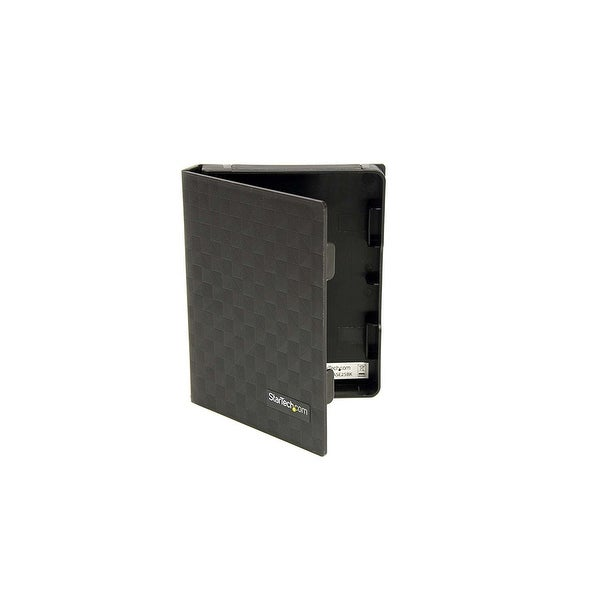 Startech Hddcase25bk 2.5In Anti-Static Hard Drive Protector Case - Black (3Pk)