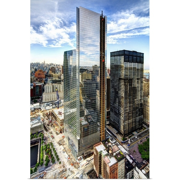 """World Trade Center Site, New York City"" Poster Print"