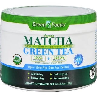 Green Foods - Organic Matcha Green Tea ( 1 - 5.5 OZ)