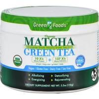 Green Foods - Organic Matcha Green Tea ( 1 - 5.5 OZ)