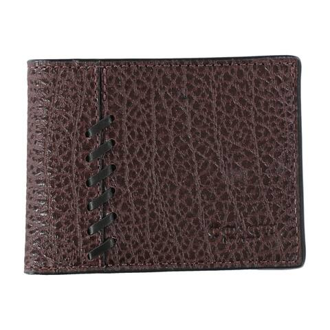 Coach Mens Rip Repair Bifold Wallet - One Size