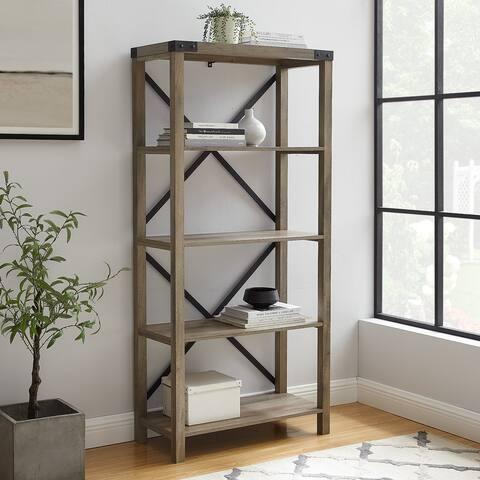 The Gray Barn Kujawa 64-inch Tall Bookshelf