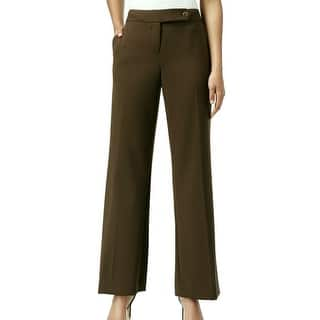 Calvin Klein NEW Olive Green Women Size 6P Petite Flat-Front Dress Pants|https://ak1.ostkcdn.com/images/products/is/images/direct/4ec629ba42999d296d0ccbf2eac1dfcadf1bbef8/Calvin-Klein-NEW-Olive-Green-Women-Size-6P-Petite-Flat-Front-Dress-Pants.jpg?impolicy=medium