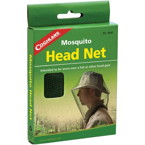 Coghlan's Mosquito Head Net, Mesh Stops Insects, Camping Survival - One Size
