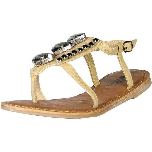 Gcny Good Choice Womens Snack Sandals - Natural - 38 m eu / 7.5-8 b(m) us