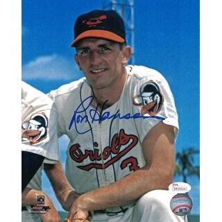 Ron Hansen Autographed Baltimore Orioles 8x10 Photo Pose JSA