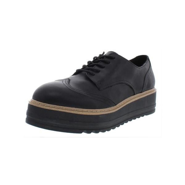 120cff28e83 Shop Steve Madden Mens Vast Derby Shoes Leather Almond Toe - 11 Medium  (B