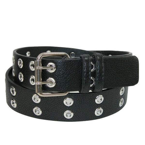 CTM® Men's Two Hole Grommet Belt
