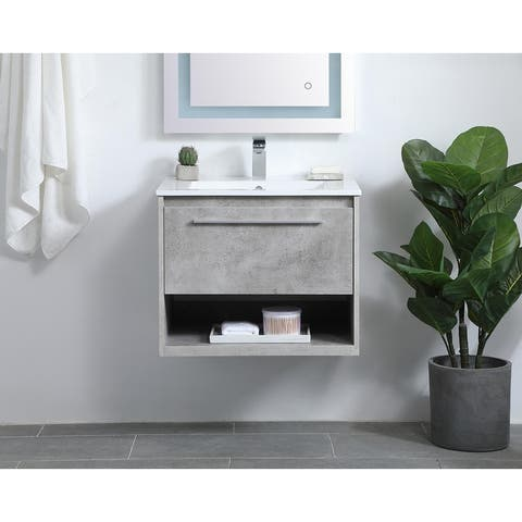 Magnolia Vanity Cabinet Set with Top