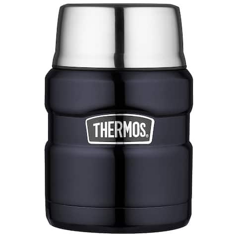 Thermos 16 oz. Stainless Steel Food Jar w/Folding Spoon