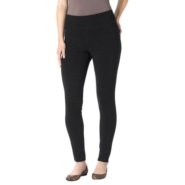c81bec15e57e0 Shop Jag Jeans Women's Plus-Size Ricki Ponte Legging, Black SIZE 16W - Free  Shipping Today - Overstock - 26889136