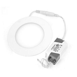 Unique Bargains Warm White 6W 30 LEDs Energy Saving Ceiling Downlight Panel Light AC 85-265V
