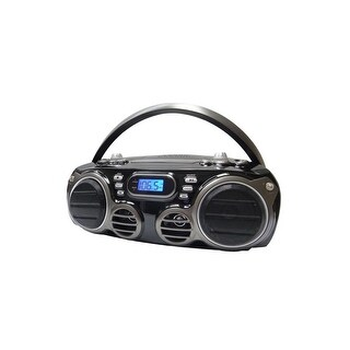 Sylvania SRCD682BT Bluetooth CD Portable Boombox w/ AM/FM Tuner Manufacturer Refurbished