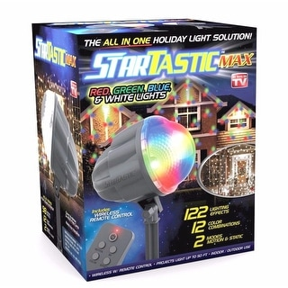 Link to STARTASTIC MAX Remote-Controlled Outdoor/Indoor with 60 Holiday Lights Similar Items in Christmas Decorations