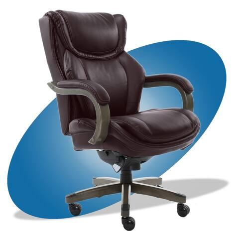 La-Z-Boy Bonded Leather/Metal Big & Tall Executive Chair